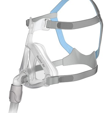 Quattro Air For Her - Product Shot - Mask with Headgear